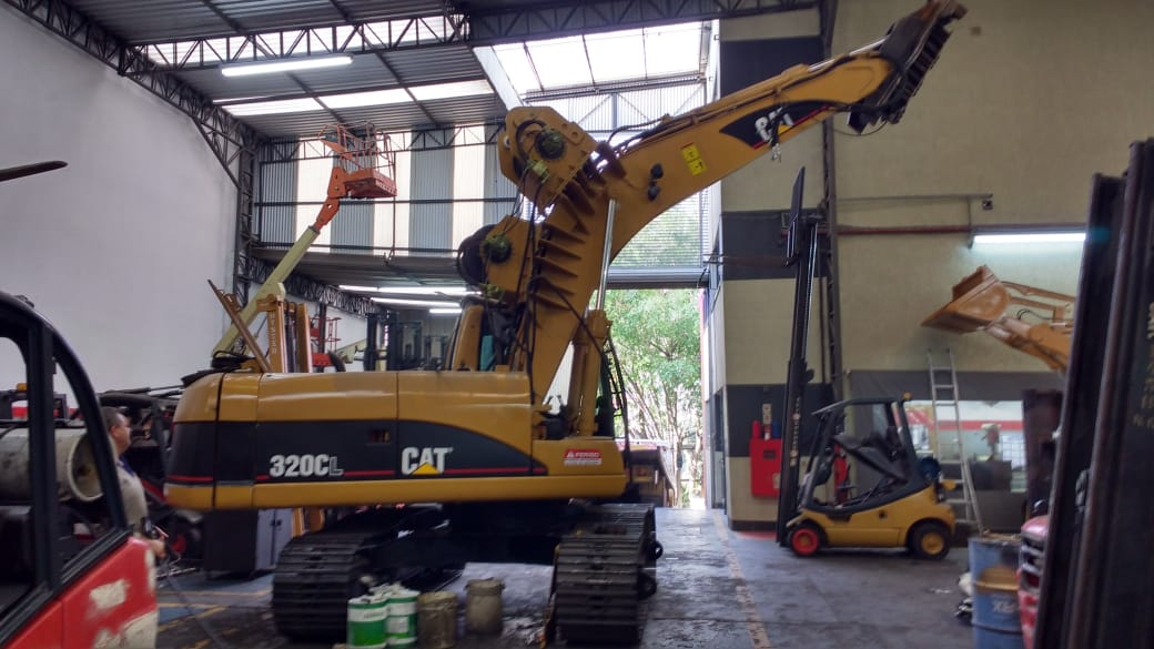 Caterpillar 320 Assistencia Tecnica E Dispositivo